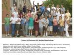 physics 622 summer 2005 participants and instructors