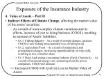 exposure of the insurance industry5