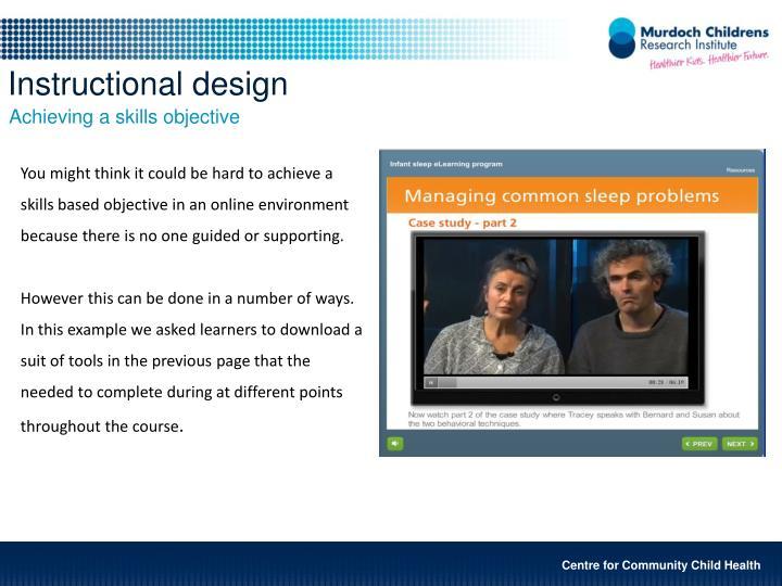 Instructional design