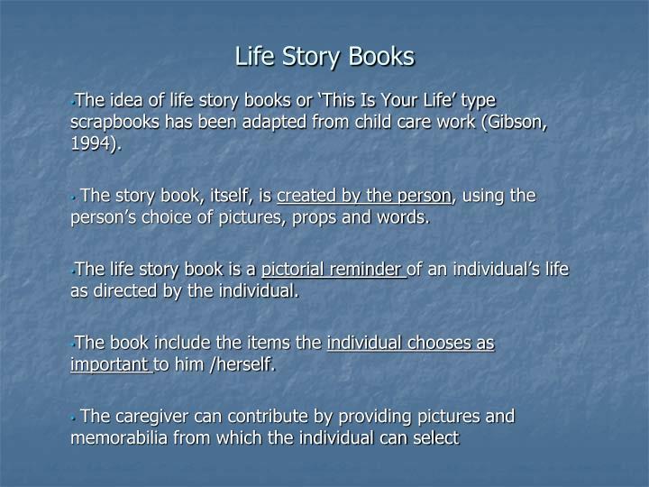Life Story Books