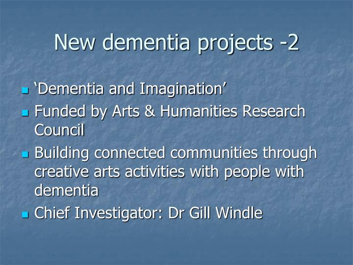 New dementia projects -2