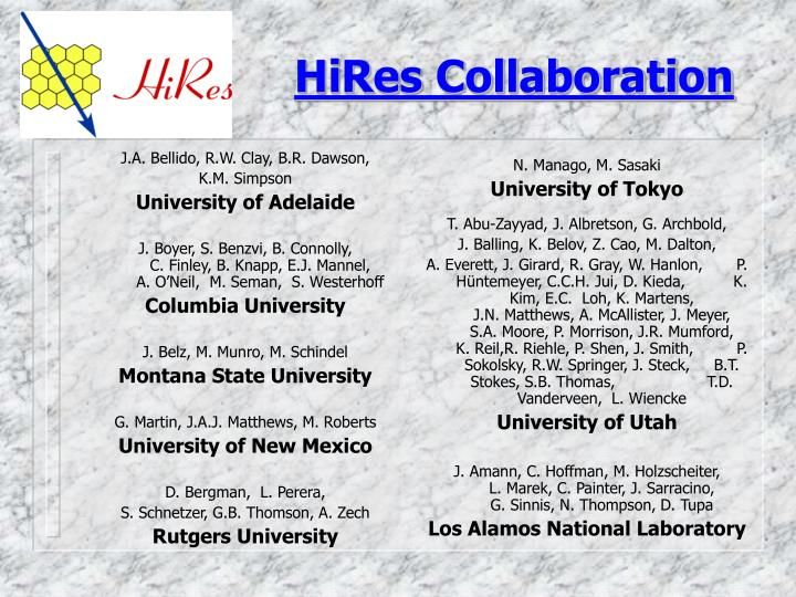 Hires collaboration