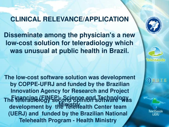 CLINICAL RELEVANCE/APPLICATION