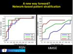 a new way forward network based patient stratification