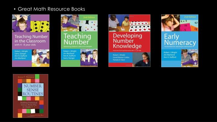 Great Math Resource Books