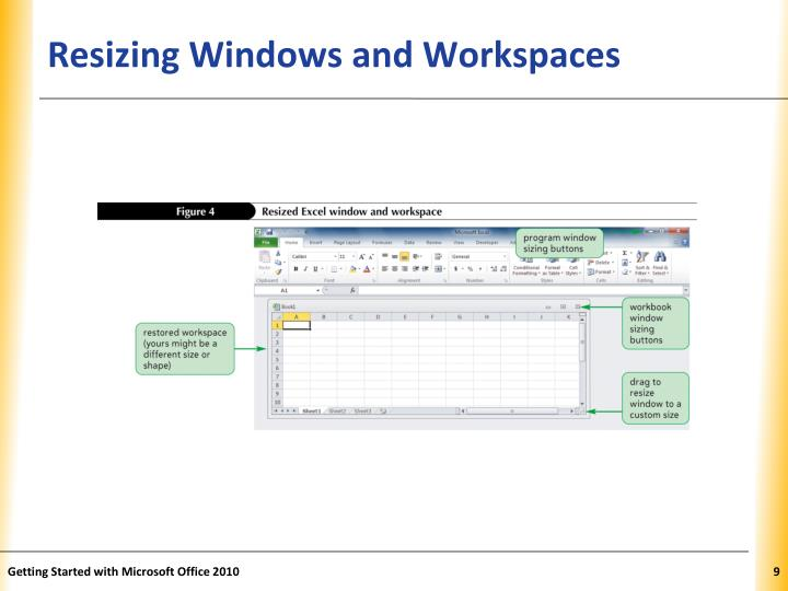 Resizing Windows and Workspaces