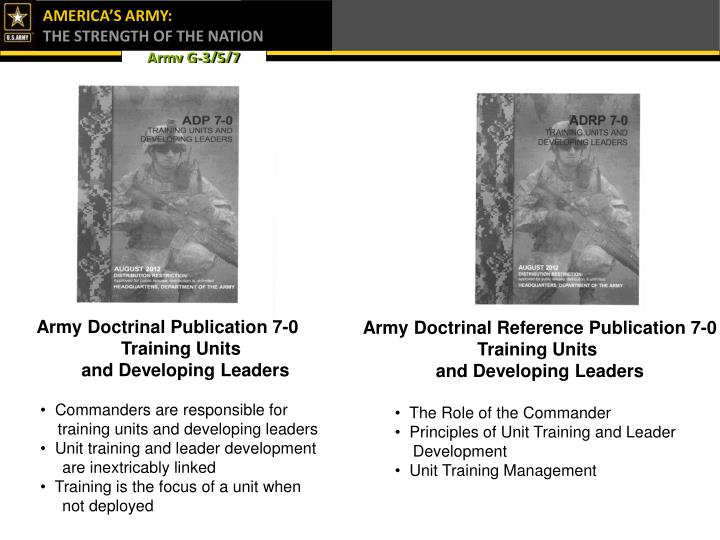 Army Doctrinal Publication 7-0