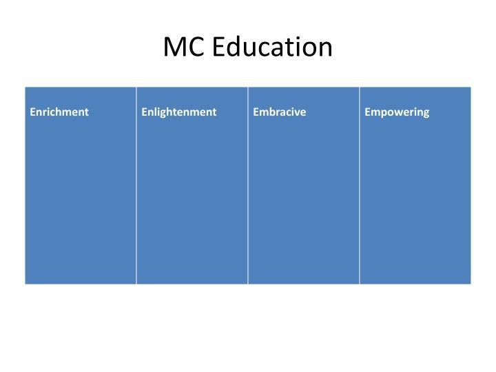 MC Education
