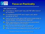 focus on practicality1