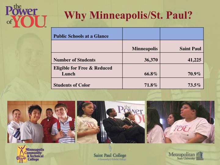 Why Minneapolis/St. Paul?