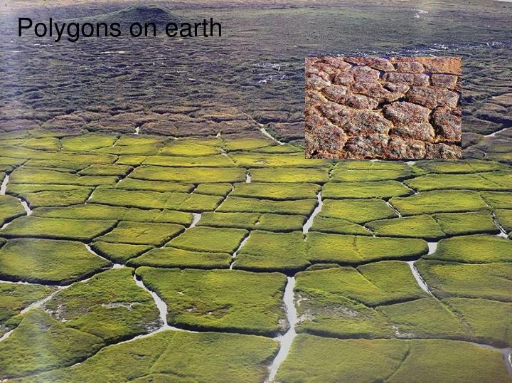 Polygons on earth