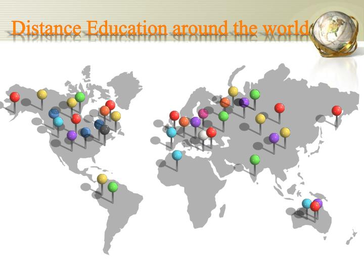 Distance Education around the world