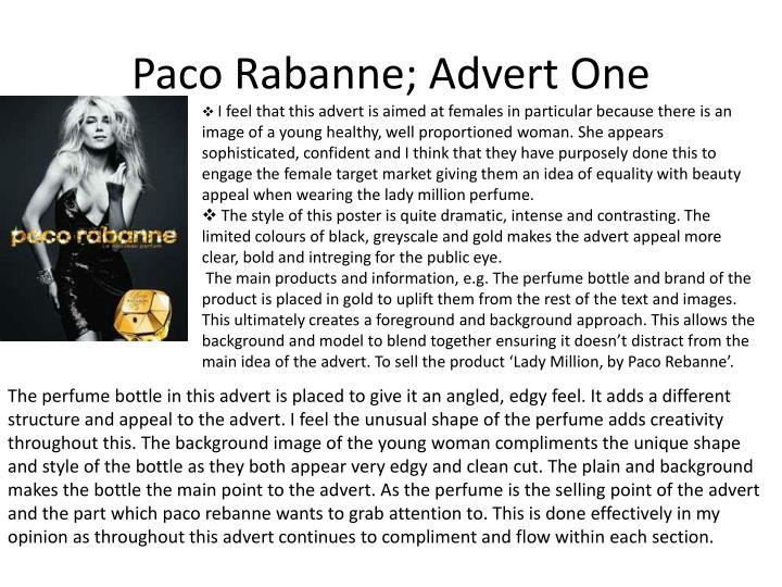 Paco rabanne advert one