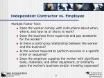 independent contractor vs employee1