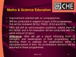 maths science education