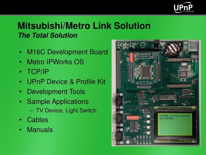M16C Development Board