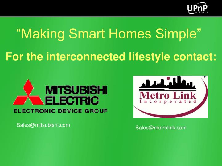 """Making Smart Homes Simple"""
