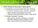 instructor and facilitator training