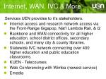 internet wan ivc more