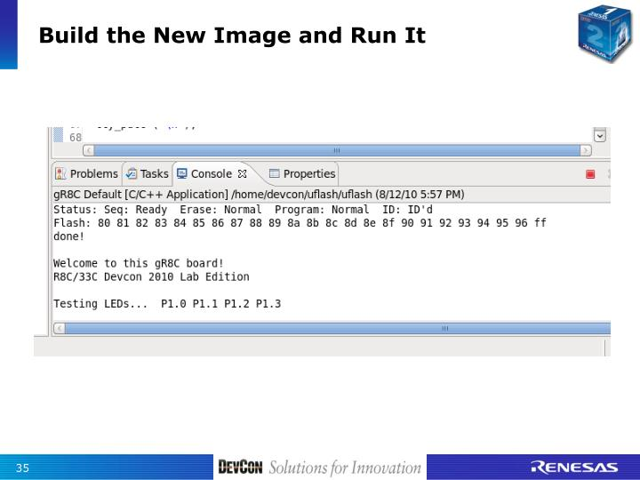Build the New Image and Run It