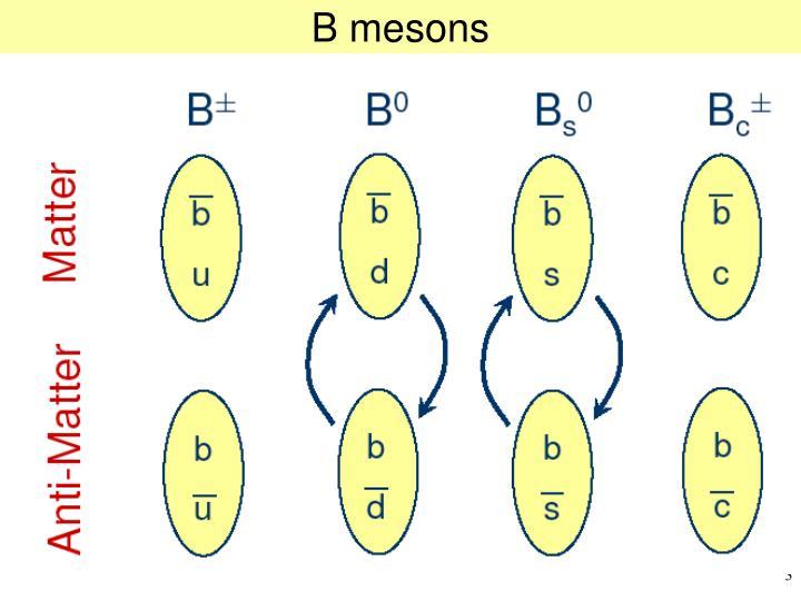 B mesons