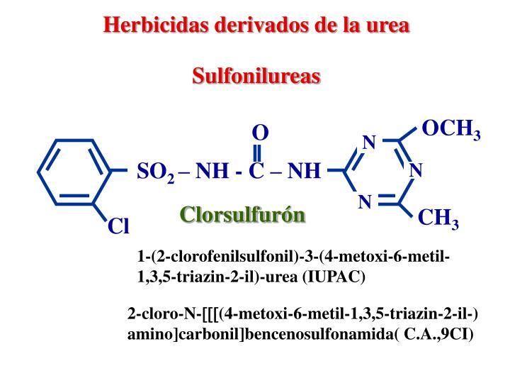 Herbicidas derivados de la urea