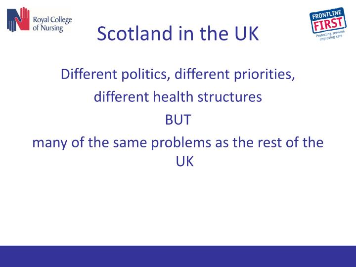 Scotland in the UK
