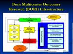 burn multicenter outcomes research bori infrastructure