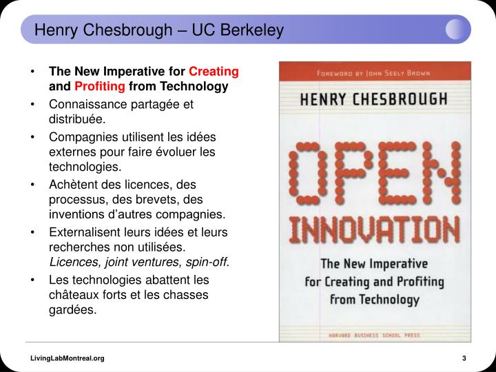 Henry chesbrough uc berkeley