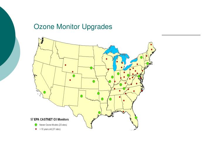 Ozone Monitor Upgrades