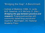 bridging the gap a benchmark