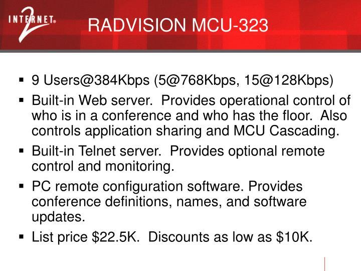 RADVISION MCU-323