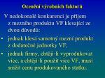 ocen n v robn ch faktor2