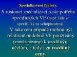 specializovan faktory