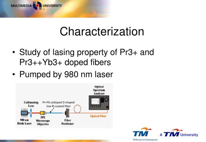 Pr+Yb codoped D shaped low RI coated fiber