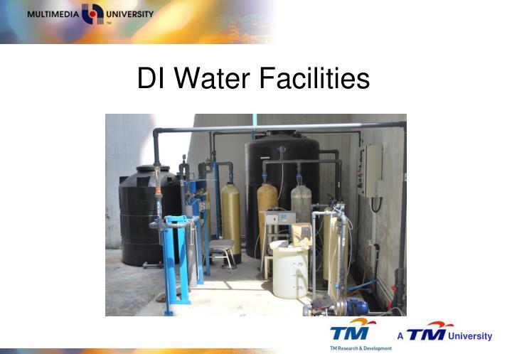 DI Water Facilities