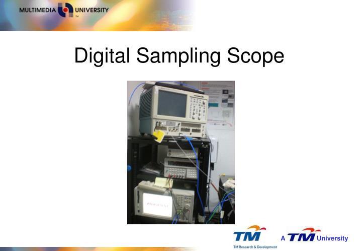 Digital Sampling Scope