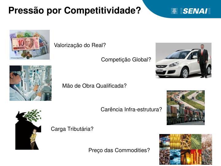 Pressão por Competitividade?