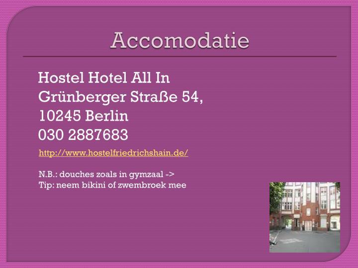 Hostel Hotel All In