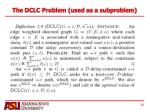 the dclc problem used as a subproblem