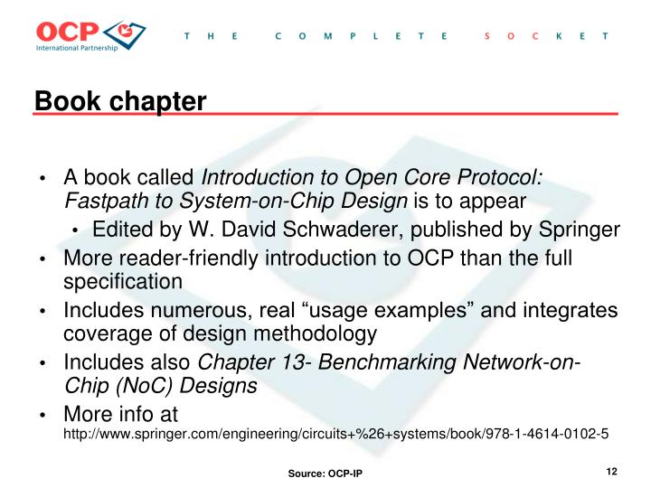 Introduction To Open Core Protocol Fastpath To System-on-chip Design Pdf