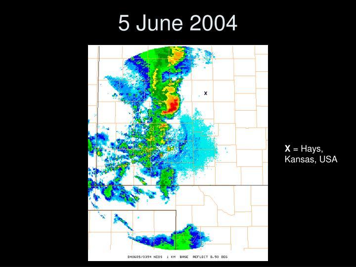 5 June 2004