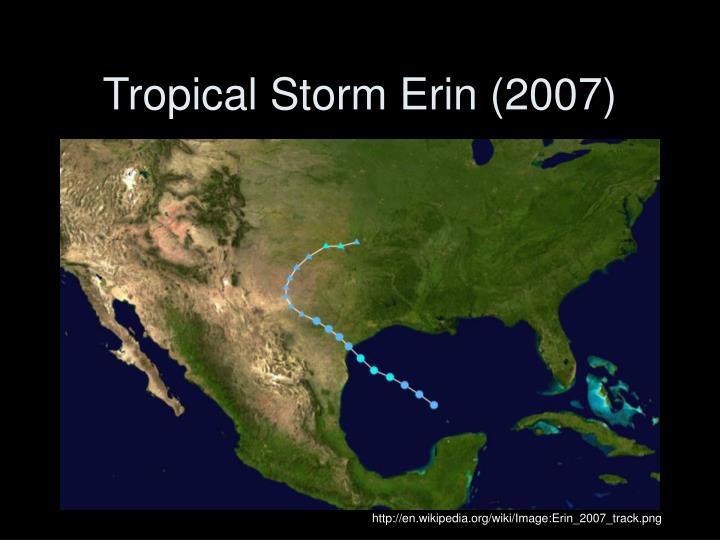 Tropical Storm Erin (2007)