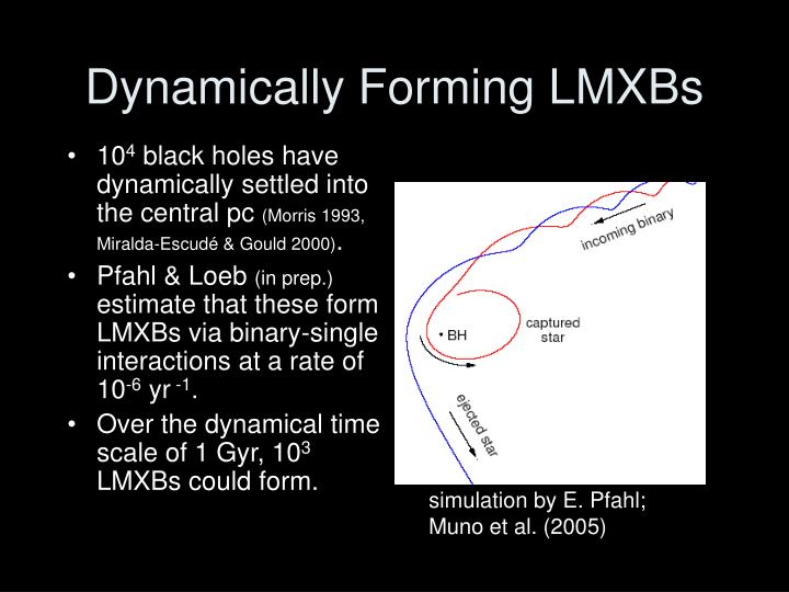 Dynamically Forming LMXBs