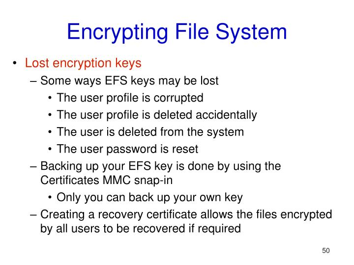 Encrypting File System