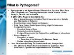 what is pythagoras