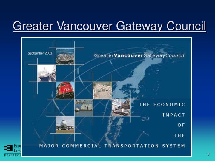 Greater Vancouver Gateway Council