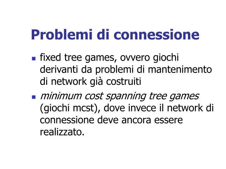 Problemi di connessione