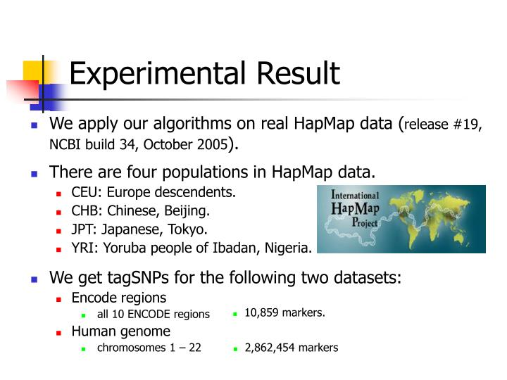 There are four populations in HapMap data.