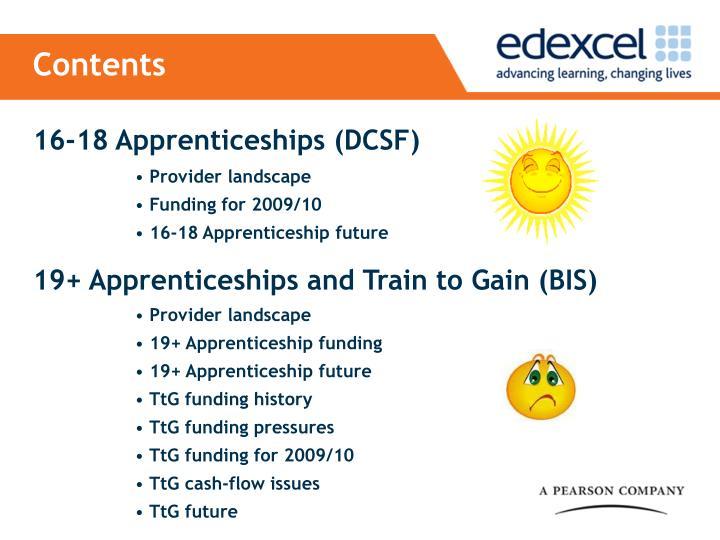 16-18 Apprenticeships (DCSF)